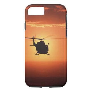 Caso del iPhone 7 de la silueta del helicóptero Funda Para iPhone 8/7