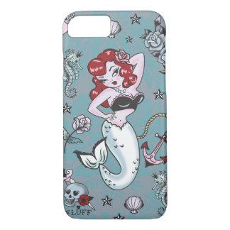 Caso del iPhone 7 de la sirena de Molly de la Funda iPhone 7
