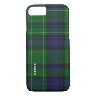 Caso del iPhone 7 de la tela escocesa de tartán Funda iPhone 7