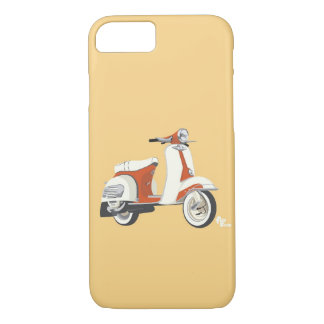 Caso del iPhone 7 de la vespa Funda iPhone 7