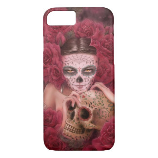 Caso del iPhone 7 de Las Calaveras Funda iPhone 7