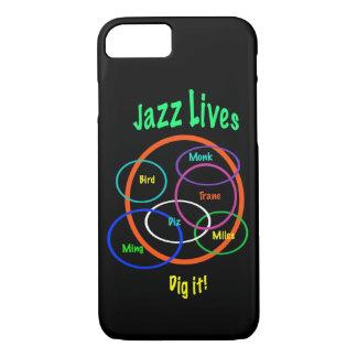 Caso del iPhone 7 de las vidas de la música de Funda iPhone 7