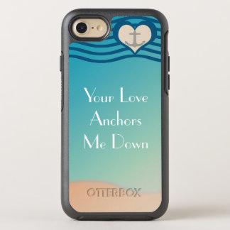 Caso del iPhone 7 de OtterBox Apple del ancla del Funda OtterBox Symmetry Para iPhone 7