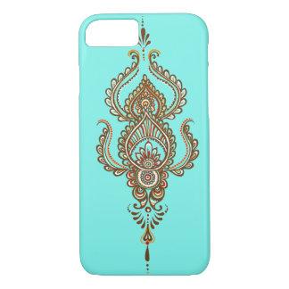 caso del iPhone 7 de Paisley del multicolor Funda iPhone 7