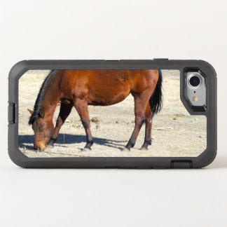 Caso del iPhone 7 del caballo de Brown Funda OtterBox Defender Para iPhone 8/7