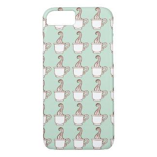 Caso del iPhone 7 del café de la menta Funda iPhone 7