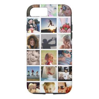 Caso del iPhone 7 del collage de la foto del Funda iPhone 7