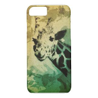 Caso del iPhone 7 del diseño de la jirafa Funda iPhone 7