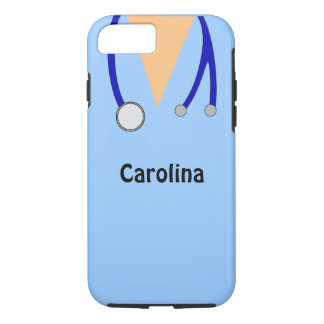 Caso del iPhone 7 del doctor Personalized Medical Funda iPhone 7