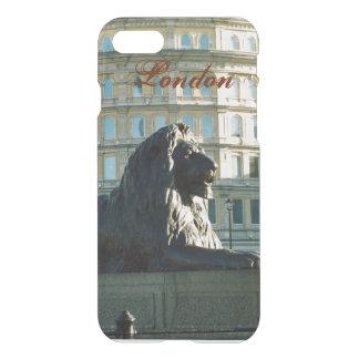 Caso del iPhone 7 del león del cuadrado de Funda Para iPhone 7