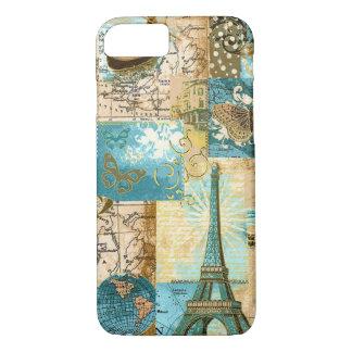 CASO del iPhone 7 del mapa de París Funda iPhone 7