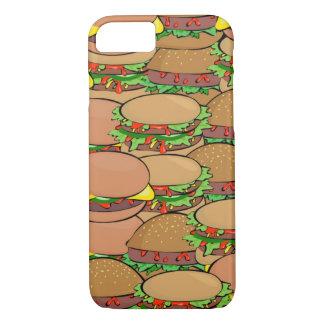 Caso del iPhone 7 del mundo del cheeseburger Funda iPhone 7