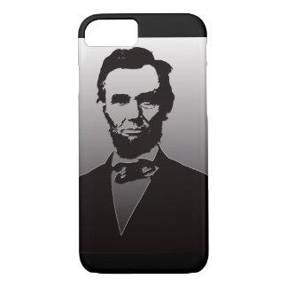 Caso del iPhone 7 del retrato de Abe Lincoln Funda iPhone 7