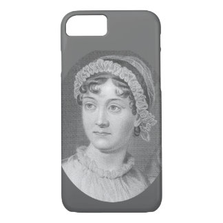Caso del iPhone 7 del retrato de Jane Austen Funda iPhone 7