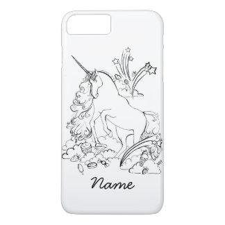 Caso del iPhone 7 del unicornio Funda Para iPhone 8 Plus/7 Plus