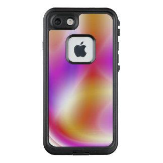 caso del iPhone 7 - púrpura suave abstracta
