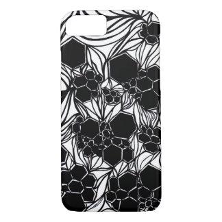 caso del iPhone - blanco y negro - diseño Funda iPhone 7