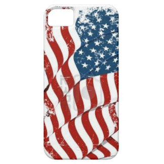 Caso del iPhone de la bandera de los E.E.U.U. del iPhone 5 Fundas
