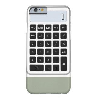 Caso del iPhone de la calculadora Funda Barely There iPhone 6