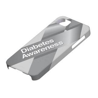 Caso del iphone de la conciencia de la diabetes funda para iPhone SE/5/5s