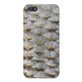 Caso del iPhone de la escala de pescados iPhone 5 Cárcasa