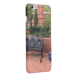 Caso del iPhone de la escena del jardín