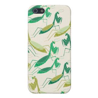 Caso del iPhone de la mantis religiosa iPhone 5 Protectores