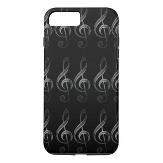 Caso del iPhone de la nota de la música del Clef Funda iPhone 7 Plus