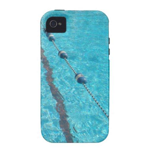 Caso del iPhone de la piscina iPhone 4/4S Carcasa