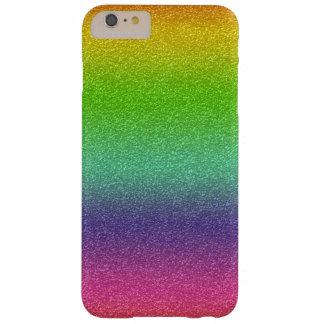 Caso del iPhone de la textura del brillo del arco Funda Barely There iPhone 6 Plus