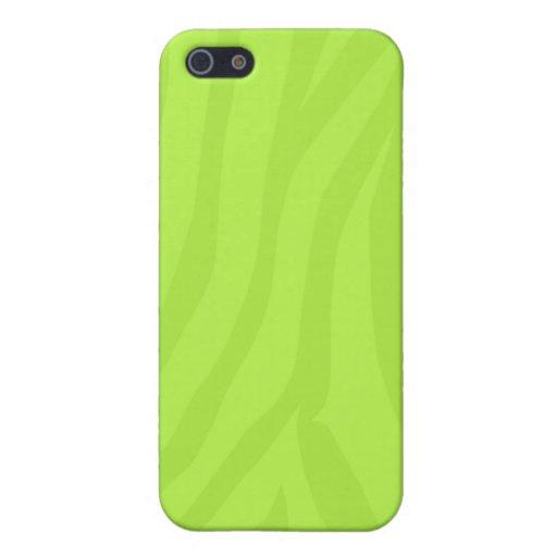 Caso del iPhone de la verde lima iPhone 5 Protector