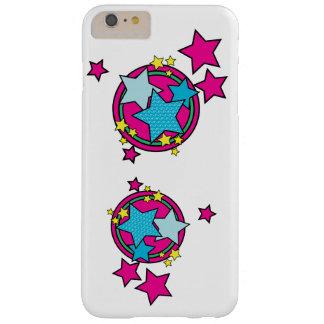 Caso del iphone de las estrellas funda barely there iPhone 6 plus