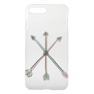 Caso del iPhone de las flechas de la acuarela Funda Para iPhone 7 Plus