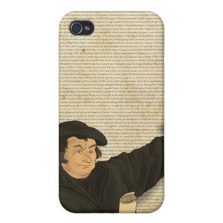 Caso del iPhone de las tesis de Martin Luther 95 iPhone 4 Protector
