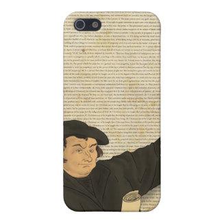 Caso del iPhone de las tesis de Martin Luther 95 iPhone 5 Protector