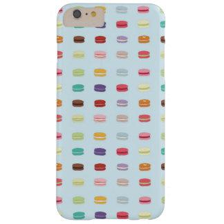 Caso del iPhone de Macaron del francés Funda Barely There iPhone 6 Plus