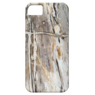 Caso del iPhone de madera aterrorizada Funda Para iPhone SE/5/5s