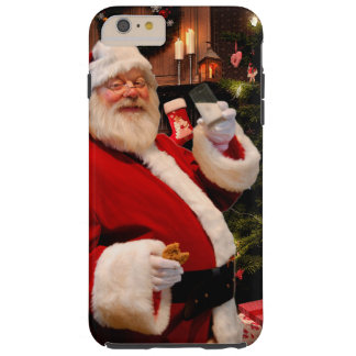 Caso del iPhone de Papá Noel Funda Resistente iPhone 6 Plus