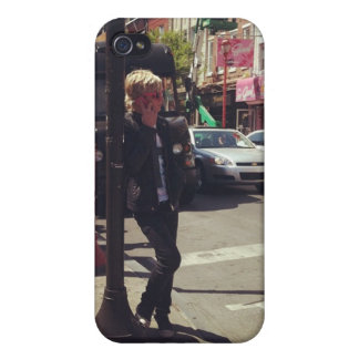 Caso del iPhone de Ross Lynch iPhone 4 Cárcasa