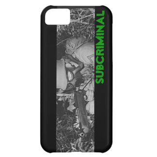 Caso del iPhone de SubCriminal GSS Carcasa Para iPhone 5C