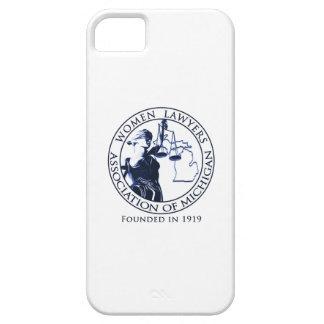 Caso del iPhone de WLAM, blanco con el logotipo iPhone 5 Case-Mate Carcasas