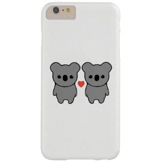 Caso del iphone del amor de la koala funda barely there iPhone 6 plus