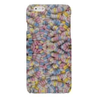 Caso del iPhone del collar del caramelo
