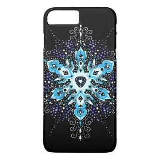 caso del iPhone del copo de nieve del invierno Funda iPhone 7 Plus