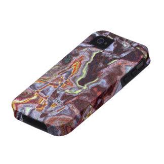 Caso del iPhone del diseño de la pintada Vibe iPhone 4 Fundas