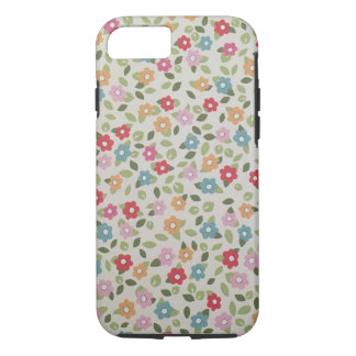 Caso del iPhone del diseño floral de la primavera Funda iPhone 7