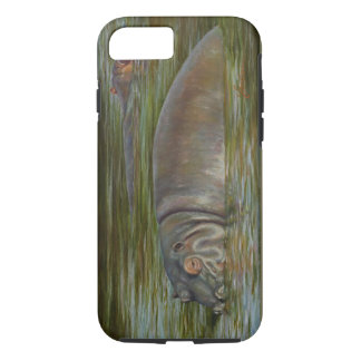 Caso del iPhone del hipopótamo Funda iPhone 7