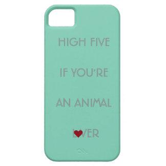 caso del iPhone/del iPad - amante animal hermoso iPhone 5 Funda