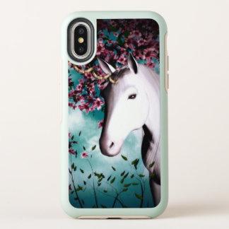 Caso del iPhone del iPhoneX del unicornio