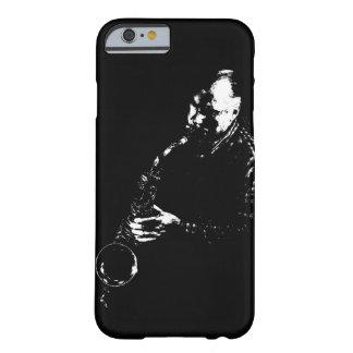 Caso del iPhone del jugador de saxofón Funda Barely There iPhone 6